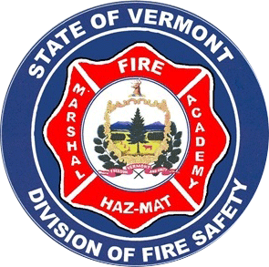 State of Vermont Division of Fire Safety badge
