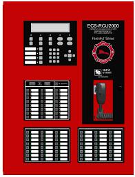 Farenhyt ECS-RCU2000 Supervised Remote Command Unit