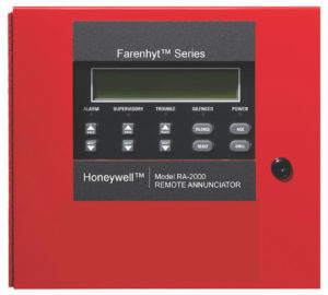 Honeywell Silent Knight Remote Annunciator RA-2000